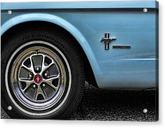 1964 Ford Mustang Acrylic Print by Gordon Dean II