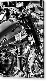 Acrylic Print featuring the photograph 1964 Norton Atlas by Tim Gainey