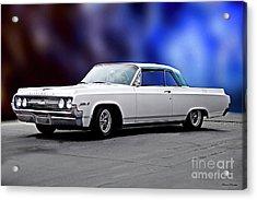 1964 Oldsmobile Jetstar 88 II Acrylic Print by Dave Koontz