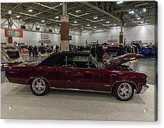 1964 Pontiac Gto Acrylic Print by Randy Scherkenbach
