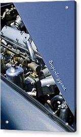 1965 Aston Martin Db5 Coupe Rhd Engine Acrylic Print by Jill Reger