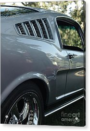1965 Ford Mustang Acrylic Print by Peter Piatt
