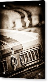1965 Ford Shelby Mustang Gt 350 Tail Light -1037s Acrylic Print