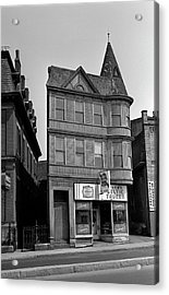 Acrylic Print featuring the photograph 1965 Jack's Celtic Tavern Boston by Historic Image