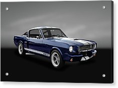 1965 Shelby Ford Mustang Gt 350 Fastback - 65fdmusgt973 Acrylic Print