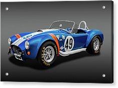 Acrylic Print featuring the photograph 1966 427 Shelby Cobra  -  1966427shelbycobrafa170660 by Frank J Benz