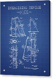 1966 Exercising Device Patent Spbb05_bp Acrylic Print