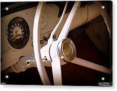 1966 Ford F100 Interior Acrylic Print