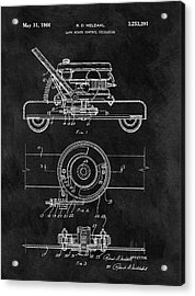 1966 Lawn Mower Patent Image Acrylic Print by Dan Sproul