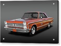1966 Plymouth Sport Fury -  66sptfuyfa1195 Acrylic Print by Frank J Benz