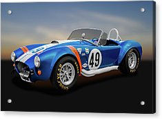 Acrylic Print featuring the photograph 1966 Shelby Cobra  -  1966shelbycobra427170660 by Frank J Benz
