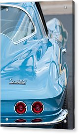 Acrylic Print featuring the photograph 1967 Chevrolet Corvette 11 by Jill Reger