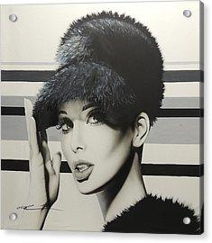 Portrait - ' 1967 ' Acrylic Print