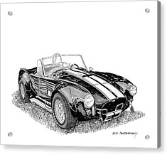 1967 Cobra Sc Acrylic Print by Jack Pumphrey