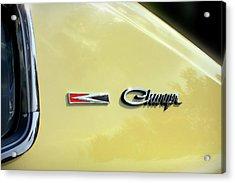 1967 Dodge Charger Acrylic Print
