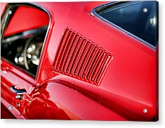 1967 Ford Mustang Gt  Acrylic Print by Gordon Dean II
