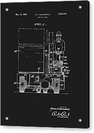 1968 Forklift Patent Acrylic Print by Dan Sproul