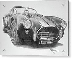 1968 Shelby Cobra Acrylic Print
