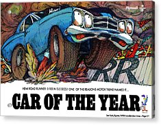 1969 Plymouth Road Runner - Car Of The Year Acrylic Print