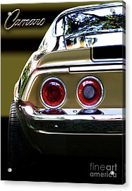 1970 Camaro Fat Ass Acrylic Print by Peter Piatt
