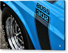 1970 Ford Mustang Boss 302 Acrylic Print by Gordon Dean II
