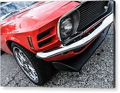 1970 Ford Mustang Acrylic Print