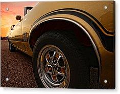 1970 Oldsmobile Cutlass 4-4-2 W-30  Acrylic Print by Gordon Dean II