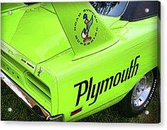 1970 Plymouth Superbird Acrylic Print by Gordon Dean II
