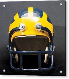 1970s Wolverine Helmet Acrylic Print