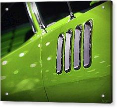 1971 Plymouth 'cuda Fender Gills Acrylic Print by Gordon Dean II