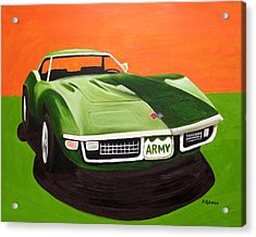 1971stingray-army Acrylic Print