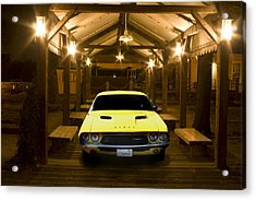 1972 Challenger Acrylic Print by Michael Cleere