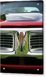 1972 Dodge Charger 400 Magnum Acrylic Print by Gordon Dean II