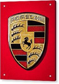 1972 Porsche 911s Emblem - 0047c45new Acrylic Print