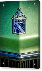 1973 Buick Regal Hood Ornament Acrylic Print by Jill Reger
