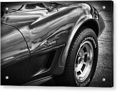 1973 Chevrolet Corvette Stingray Acrylic Print