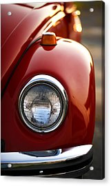 Acrylic Print featuring the photograph 1973 Volkswagen Beetle by Gordon Dean II