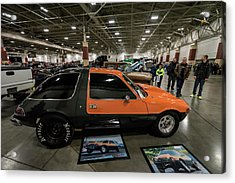 Acrylic Print featuring the photograph 1975 Amc Pacer by Randy Scherkenbach