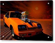 1977 Chevrolet Monza Dragster Acrylic Print