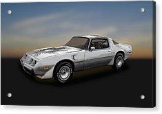 1979 Pontiac Firebird Trans Am 10th Anniversary  -  79pont985 Acrylic Print