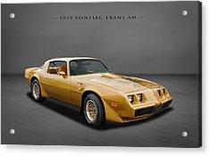 1979 Pontiac Firebird Trans Am Acrylic Print