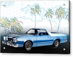 1979 Ranchero Gt 7th Generation 1977-1979 Acrylic Print