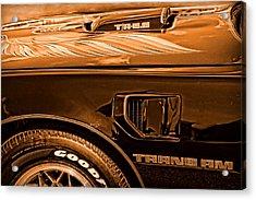 1980 Pontiac Trans Am Acrylic Print by Gordon Dean II
