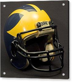 1980s Wolverine Helmet Acrylic Print