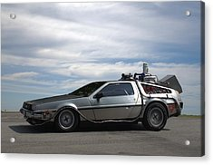 Acrylic Print featuring the photograph 1981 Delorean Dmc12 by Tim McCullough