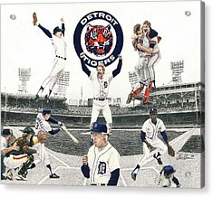 1984 Detroit Tigers Acrylic Print
