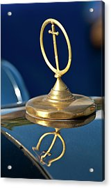 1984 Excalibur Roadster Hood Ornament Acrylic Print by Jill Reger