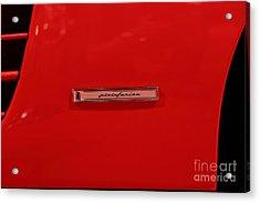 1986 Ferrari Testarossa - 5d20023 Acrylic Print by Home Decor