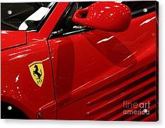 1986 Ferrari Testarossa - 5d20026 Acrylic Print by Home Decor