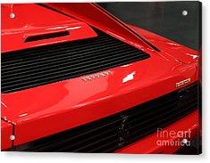 1986 Ferrari Testarossa - 5d20029 Acrylic Print by Home Decor